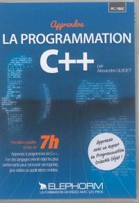 Apprendre la programmation C++ : formation complète en plus de 7 h