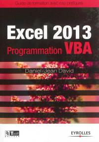 Excel 2013 : programmation VBA