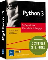 Python 3 : de l'algorithme à la maîtrise du langage