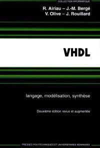 VHDL : langage, modélisation, synthèse