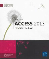 Access 2013 : fonctions de base