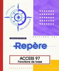 Access 97, fonctions de base