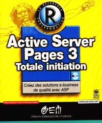 Active Server Pages 3 : totale initiation
