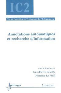 Annotations automatiques et recherche d'information