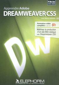 Apprendre Adobe Dreamweaver CS5