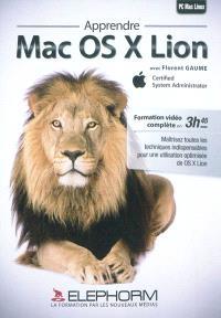 Apprendre Mac OS X Lion