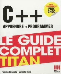 C++ : apprendre et programmer