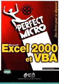 Excel 2000 et VBA
