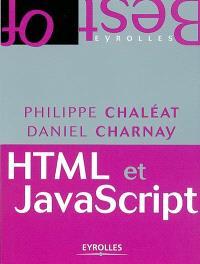HTML, JavaScript