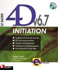 Le guide 4D v6.7 initiation