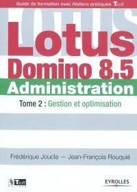 Lotus Domino administration. Volume 2, Gestion et optimisation