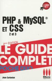 PHP & MySQL et CSS 2 et 3