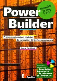 Power builder : programmation objet et règles de conception d'interfaces graphiques