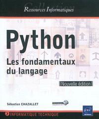 Python : les fondamentaux du langage