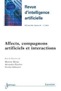 Revue d'intelligence artificielle. n° 1 (2014), Affects, compagnons artificiels et interactions
