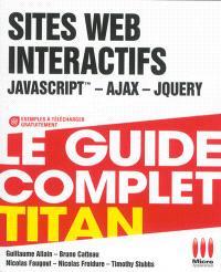 Sites web interactifs : JavaScript, Ajax, jQuery