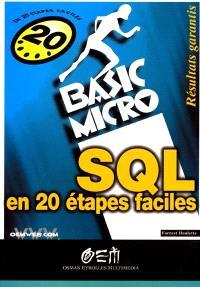 SQL en 20 étapes faciles