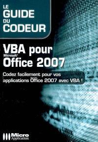 VBA pour Microsoft Office 2007