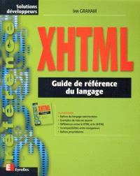 XHTML : guide de référence du langage