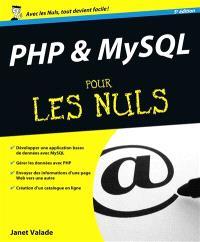 PHP & MySQL pour les nuls
