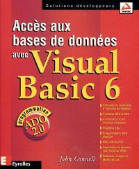 Accès aux bases de données avec Visual Basic 6