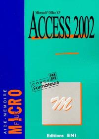 Access 2002 Microsoft Office XP