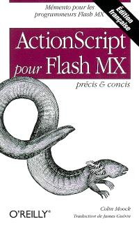 ActionScript pour Flash MX