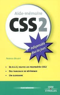 Aide-mémoire CSS 2