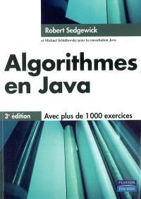 Algorithmes en Java : concepts fondamentaux, structures de données, tri et recherche