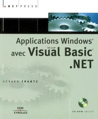 Applications Windows avec Visual Basic.Net
