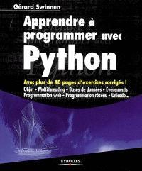 Apprendre à programmer avec Python : cours et exercices