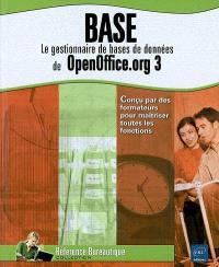 Base : le gestionnaire de bases de données de OpenOffice.org 3