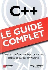 C++ : découvrez le C++ avec la programmation graphique 2D, 3D et Windows