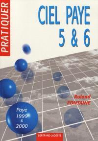 Ciel Paye 5 et 6 : solution Ciel 1999-2000