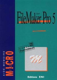 Claris FileMaker Pro 5