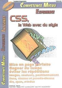 Compétence Micro. Expérience. n° 25, CSS, le Web avec du style