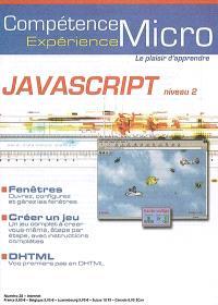 Compétence Micro. Expérience. n° 28, Javascript : niveau 2