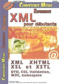 Compétence Micro. Expérience. n° 27, XML pour débutants