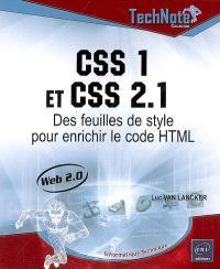 CSS 1 et CSS 2.1 : des feuilles de style pour enrichir le code HTML