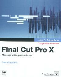 Final Cut Pro X : montage vidéo professionnel