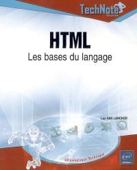 HTML : les bases du langage
