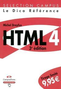 HTML 4 : le dico référence