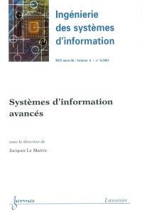 Ingénierie des systèmes d'information. n° 4 (2003), Systèmes d'information avancés