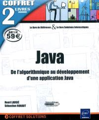 Java : de l'algorithmique au développement d'une application Java