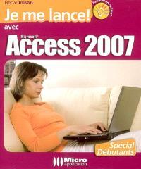 Je me lance avec Access 2007