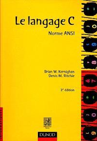 Le langage C, norme ANSI