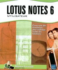 Lotus Notes 6 : utilisateur