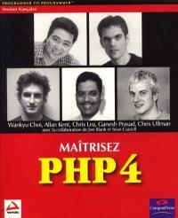 Maîtrisez PHP 4