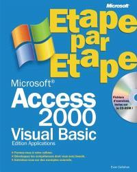 Microsoft Access 2000 VBA, étape par étape