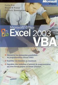 Microsoft Excel 2003 VBA